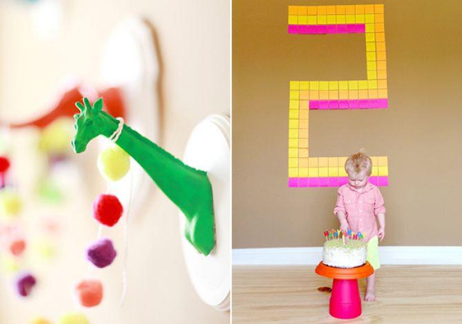 decorar-festa-infantil-post-it
