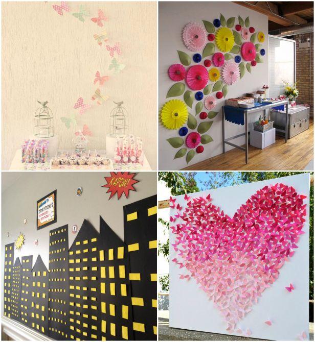 decorar-parede-papel-recortado