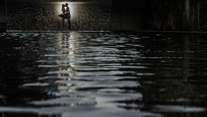 Ideias Book de Casamento película de agua