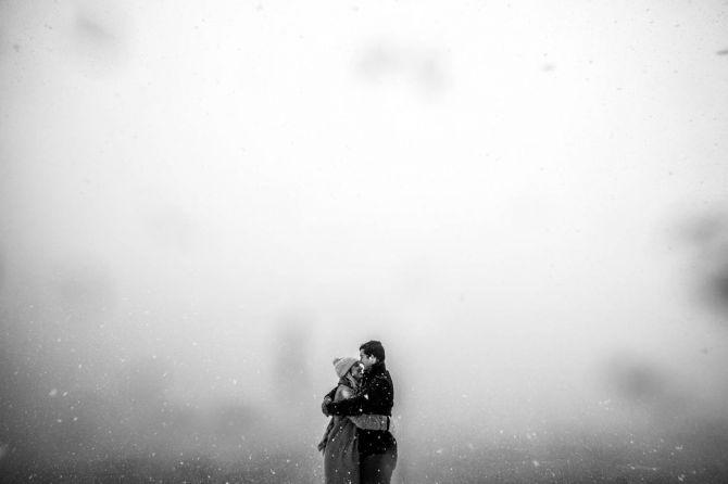 Ideias Book de Casamento na neve