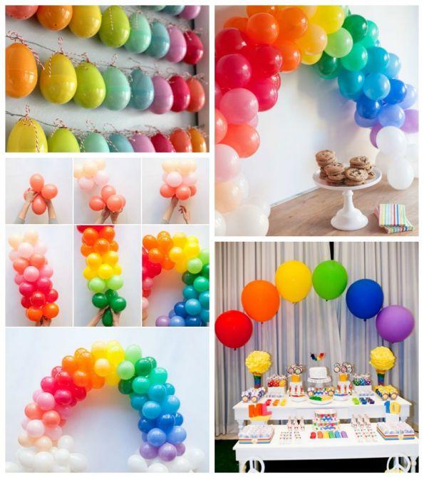 decoracao-baloes-arco-iris