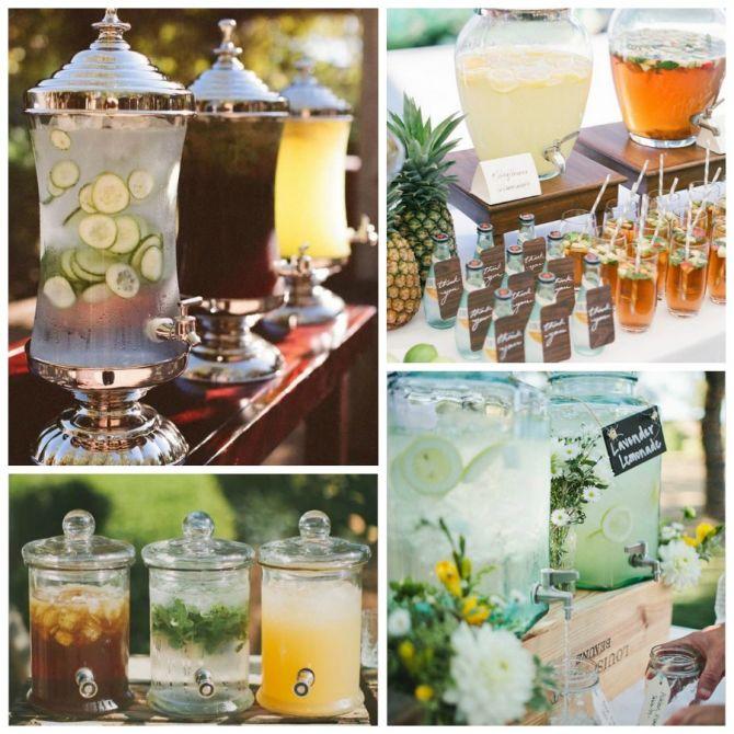 Escolha as Bebidas: Bebidas Refrescantes para o Casamento