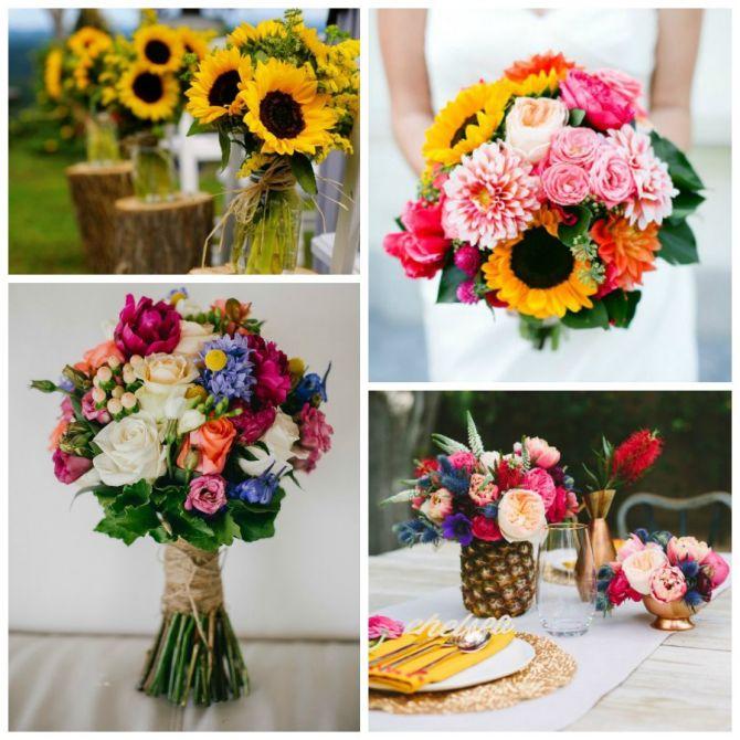 Selecione a Decoração: Escolhendo Bem as Flores