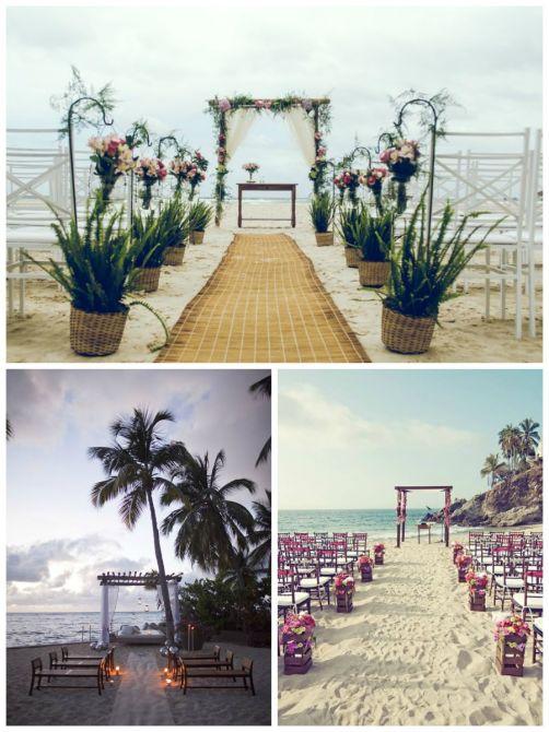 Pense na Localização: Casamento na Praia