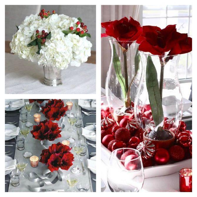 Monte um Centro de Mesa com Flores