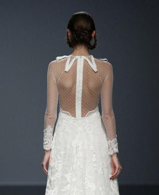 Decote nas Costas nos Vestidos de Noiva