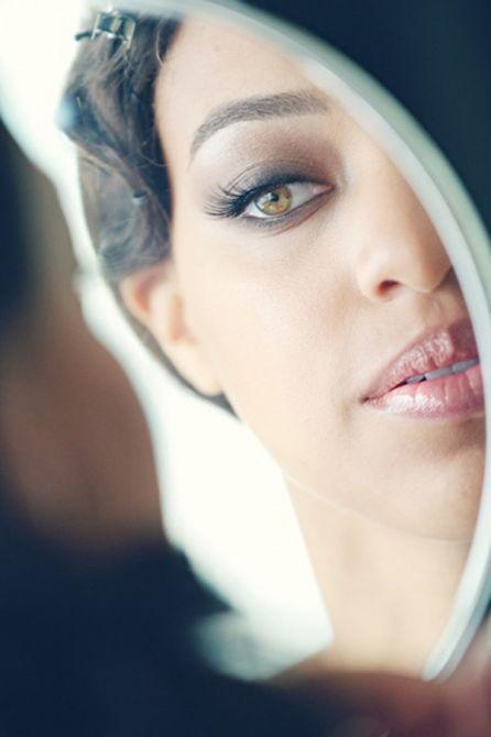 Olho esfumado para noivas morenas