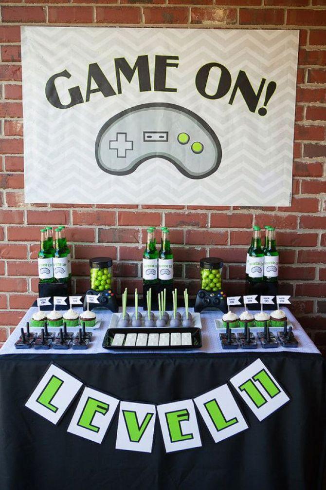 Enfeite Xbox ~ 9 Dicas de Como Organizar uma Festa Geek Blog de Festas e Eventos