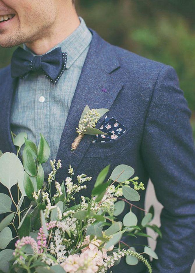 Acessórios para casamento: Lenço