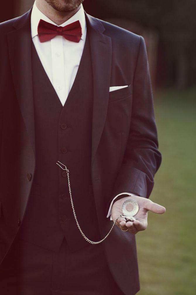 Acessórios para Casamento: Relógio de bolso