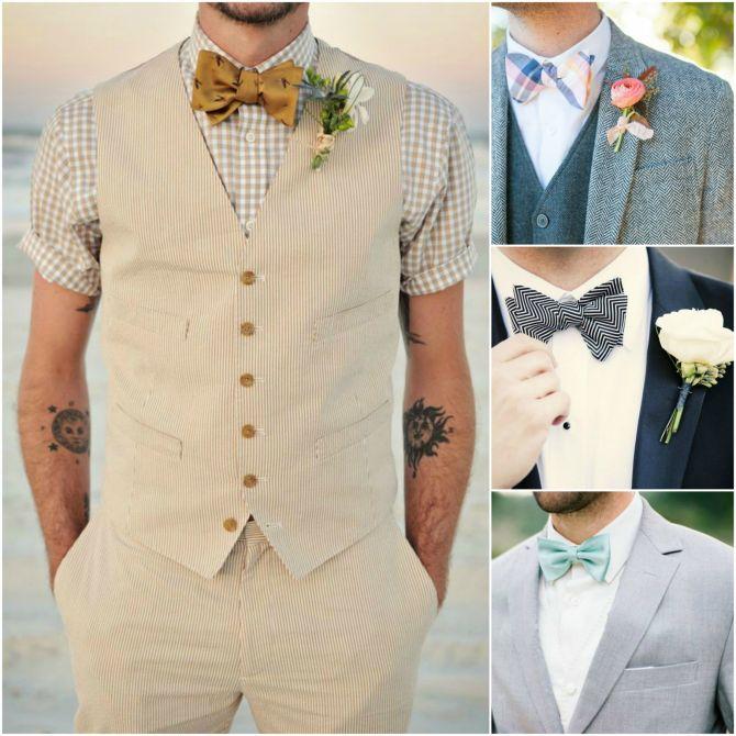 Acessórios para casamento: Gravata borboleta