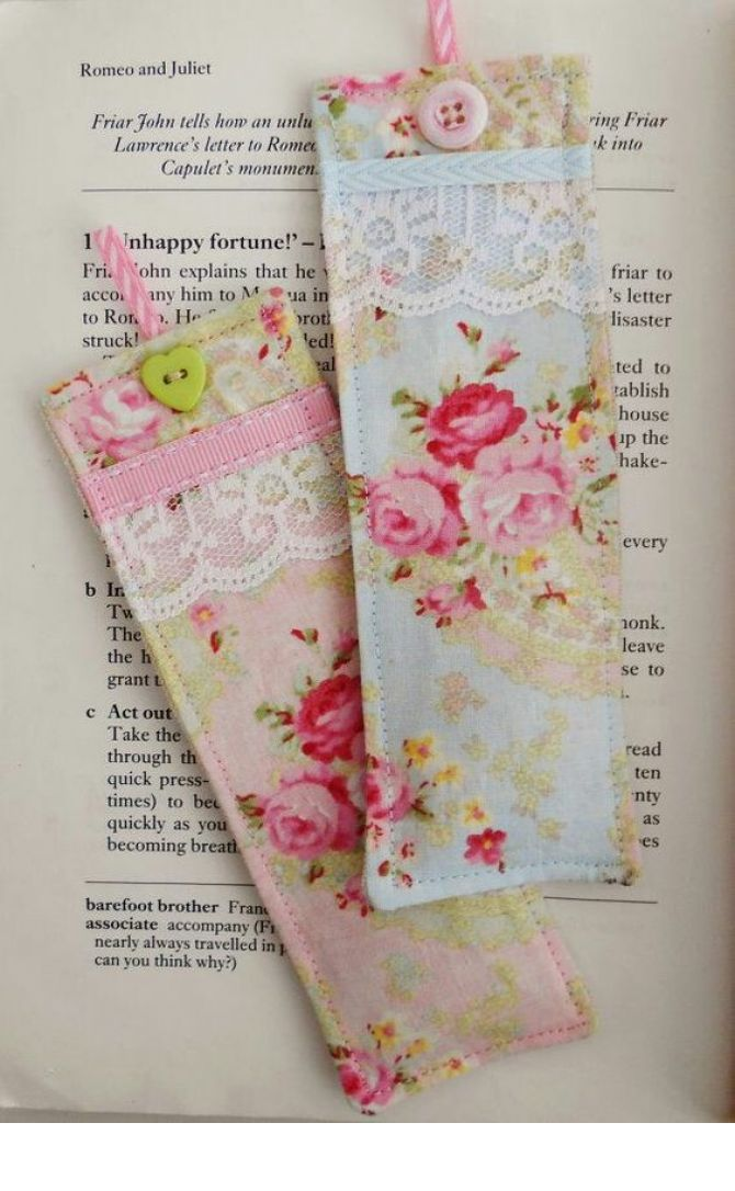 lembrancinhas de maternidade: marcadores de livros