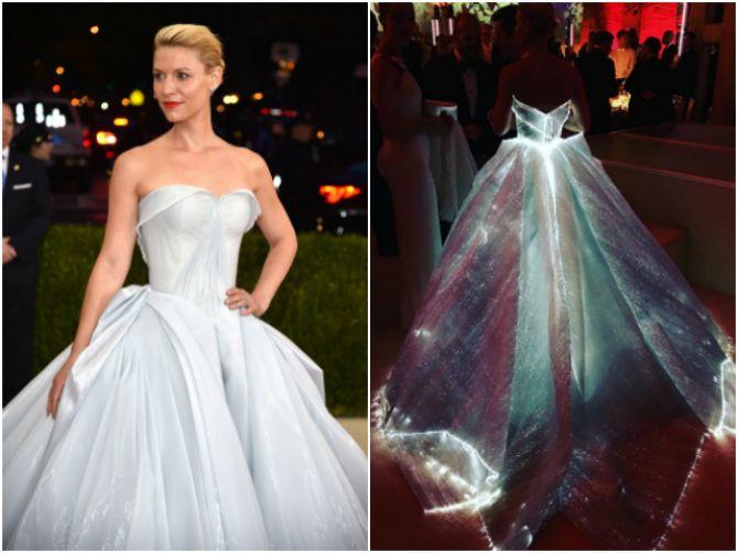 Vestidos de noiva das famosas: Claire Danes