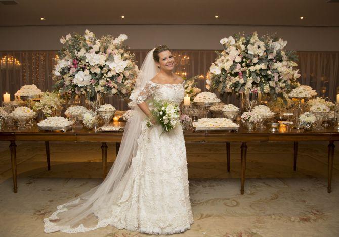 Noivas famosas: Fernanda Souza