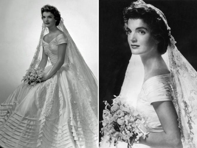 Jackie Kennedy: noivas famosas
