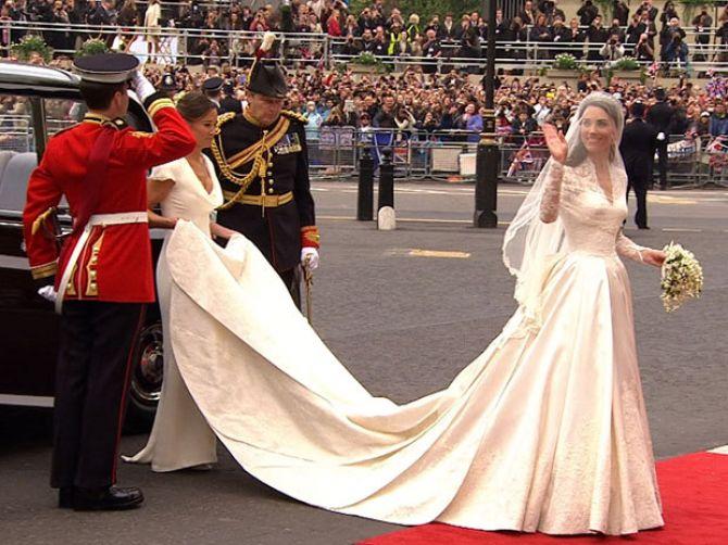 Vestidos de noiva das famosas: kate middleton