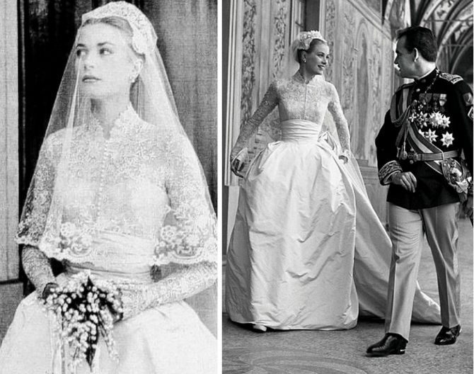 Noivas famosas: Grace Kelly