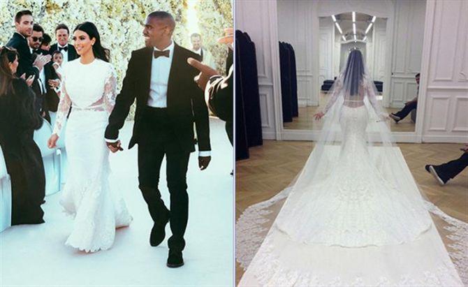Kim Kardashian Noivas Famosas