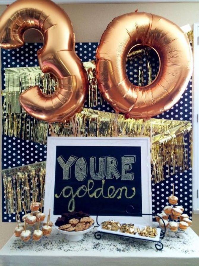 Números de balões metálicos