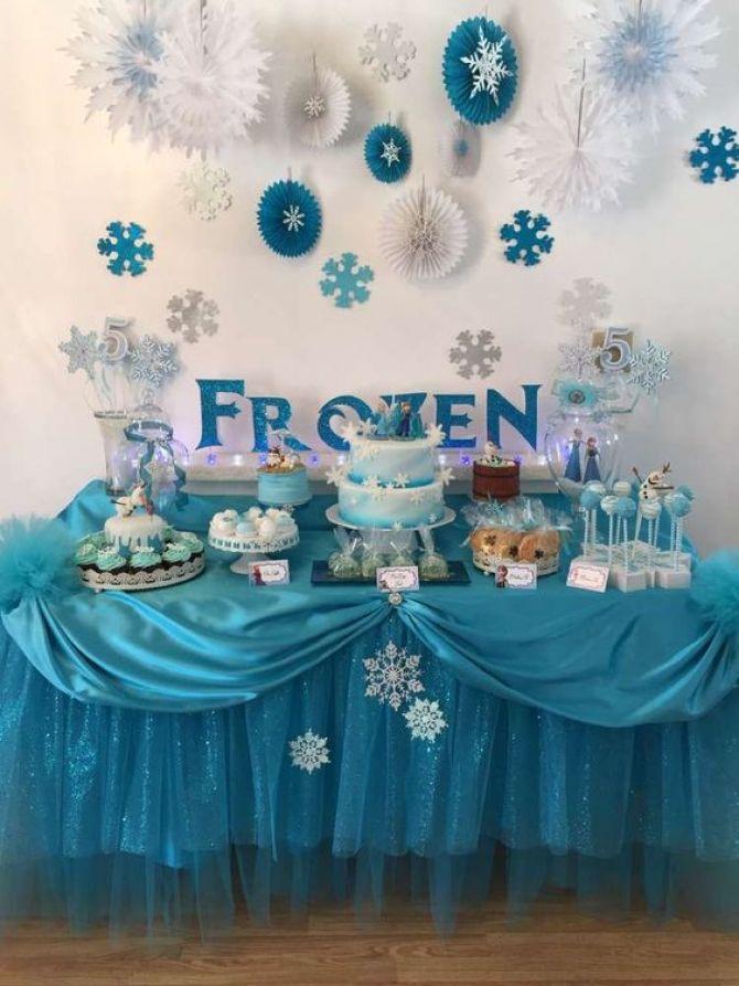 Tema de aniversário infantil: Frozen