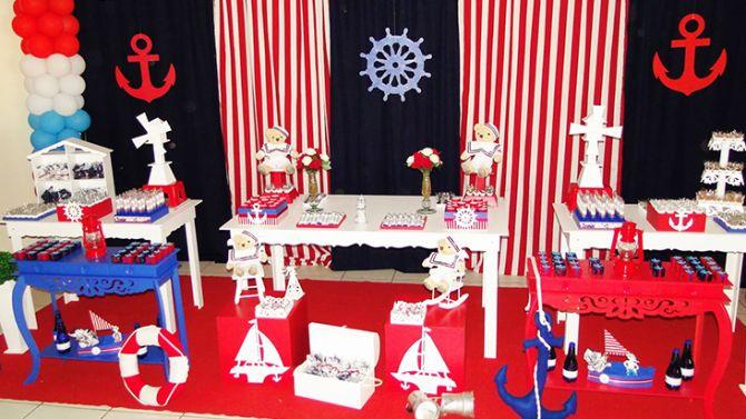 Tema de festa infantil: marinheiro