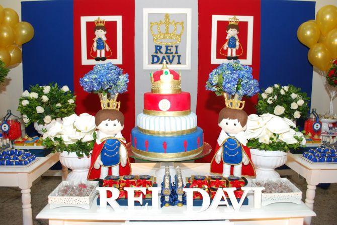 Aniversário infantil de Rei