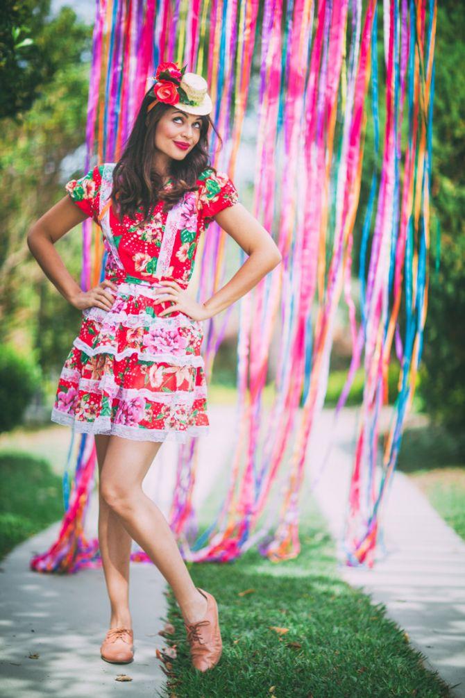 vestido para o arraiá de festa junina