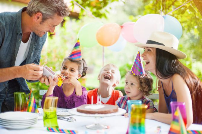 inclusa seu filho no planejamento da festa infantil
