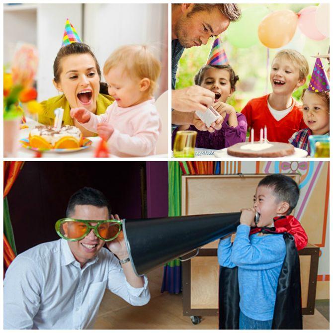 Não deixe de se divertir com seu filho no aniversário dele