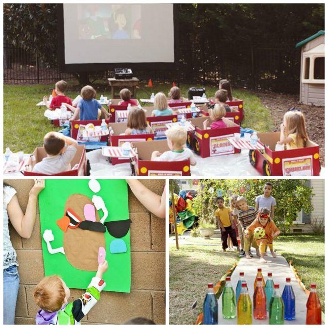 Organize atividades para as crianças não ficarem entediadas