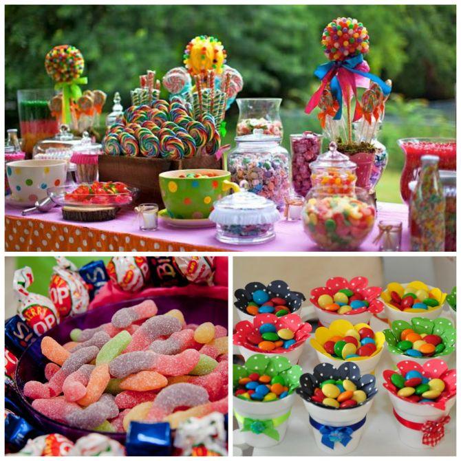 exagerar nos doces na festa infantil é um erro a ser evitado