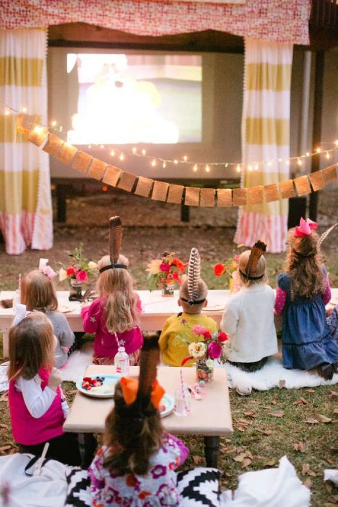 É possível preparar uma sessão de cinema em sua própria casa