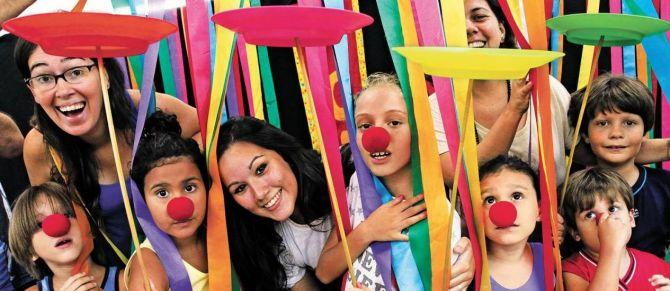 Festa com circo é pura diversão para os pequenos