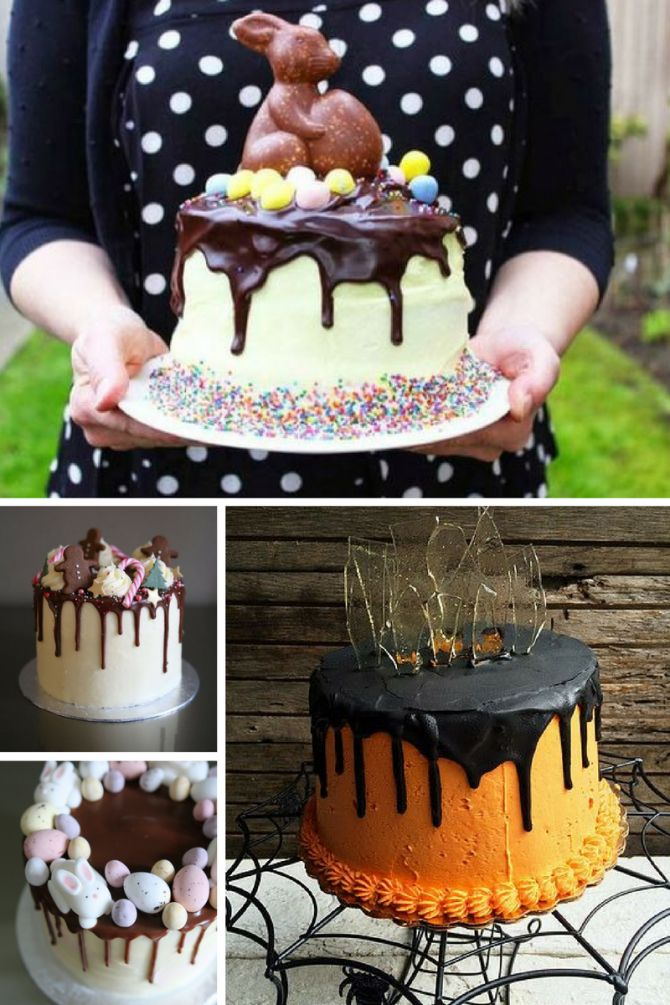 Dripping cake para festa temática
