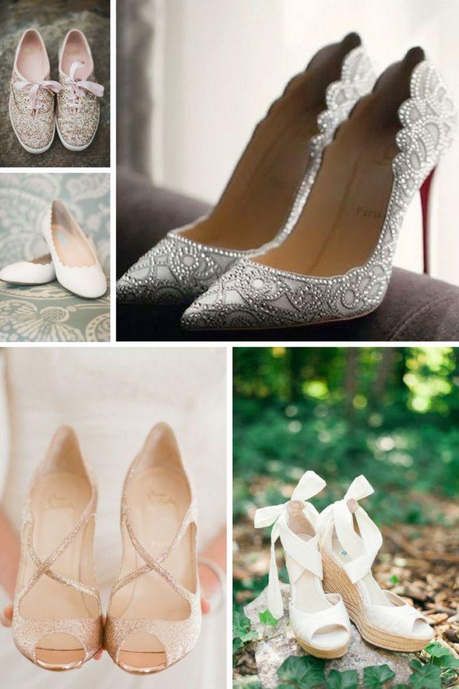 Modelos de sapatos para noivas