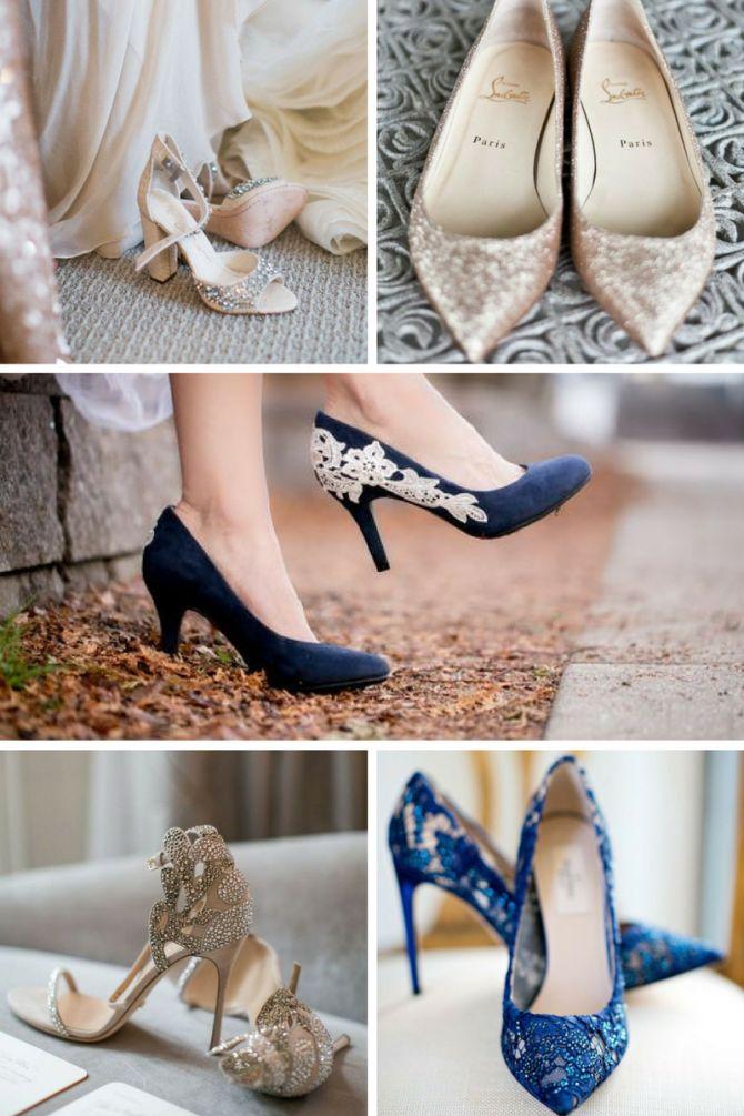Sapato de noiva salto alto