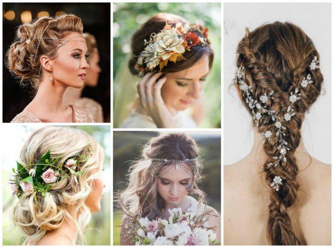Jóias para os cabelos das noivas