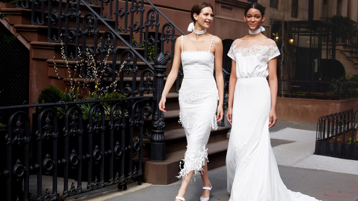 10 tendências em vestido de noiva para 2019