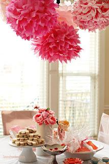 mesa decorada de festa