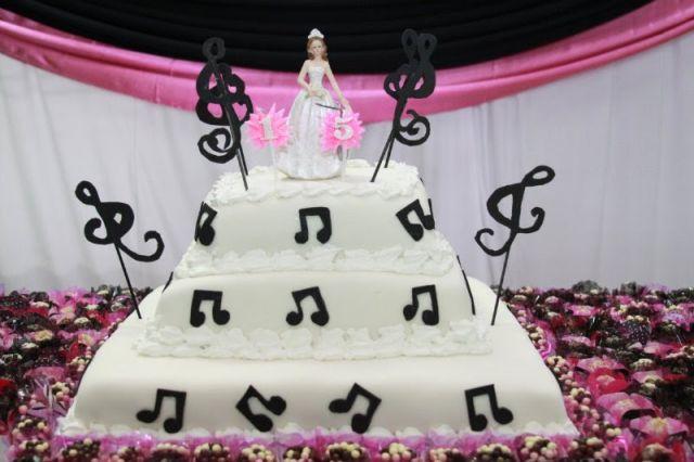 Delicias bolos decorativos organizando eventos - Musica anos 50 americana ...